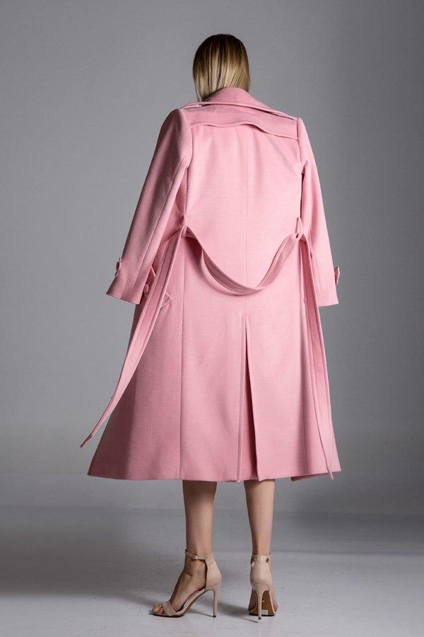 pink, coat