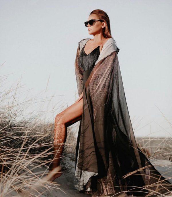 abaya, cape, demet akalin