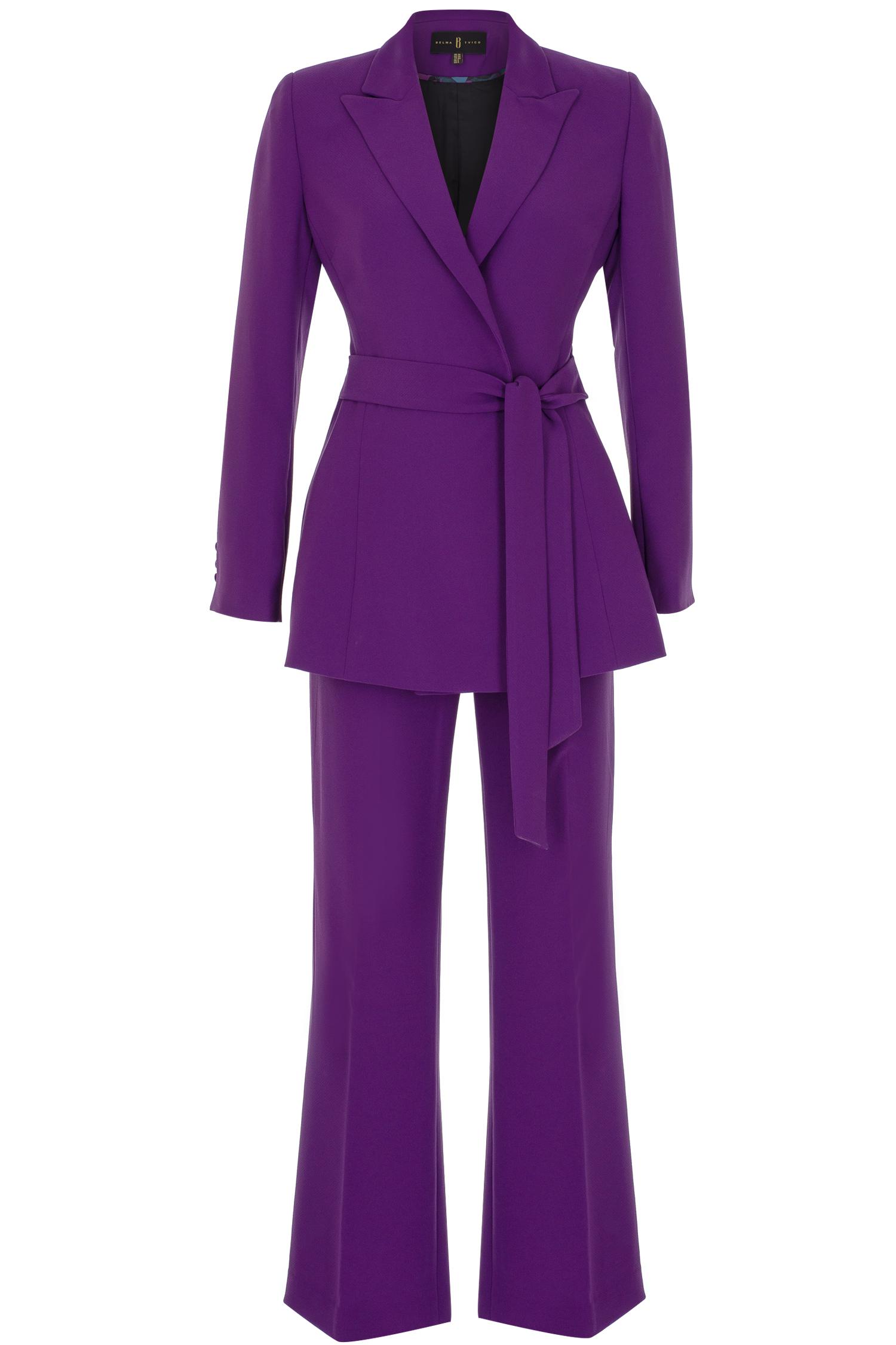 violet suit, violet, designer suit