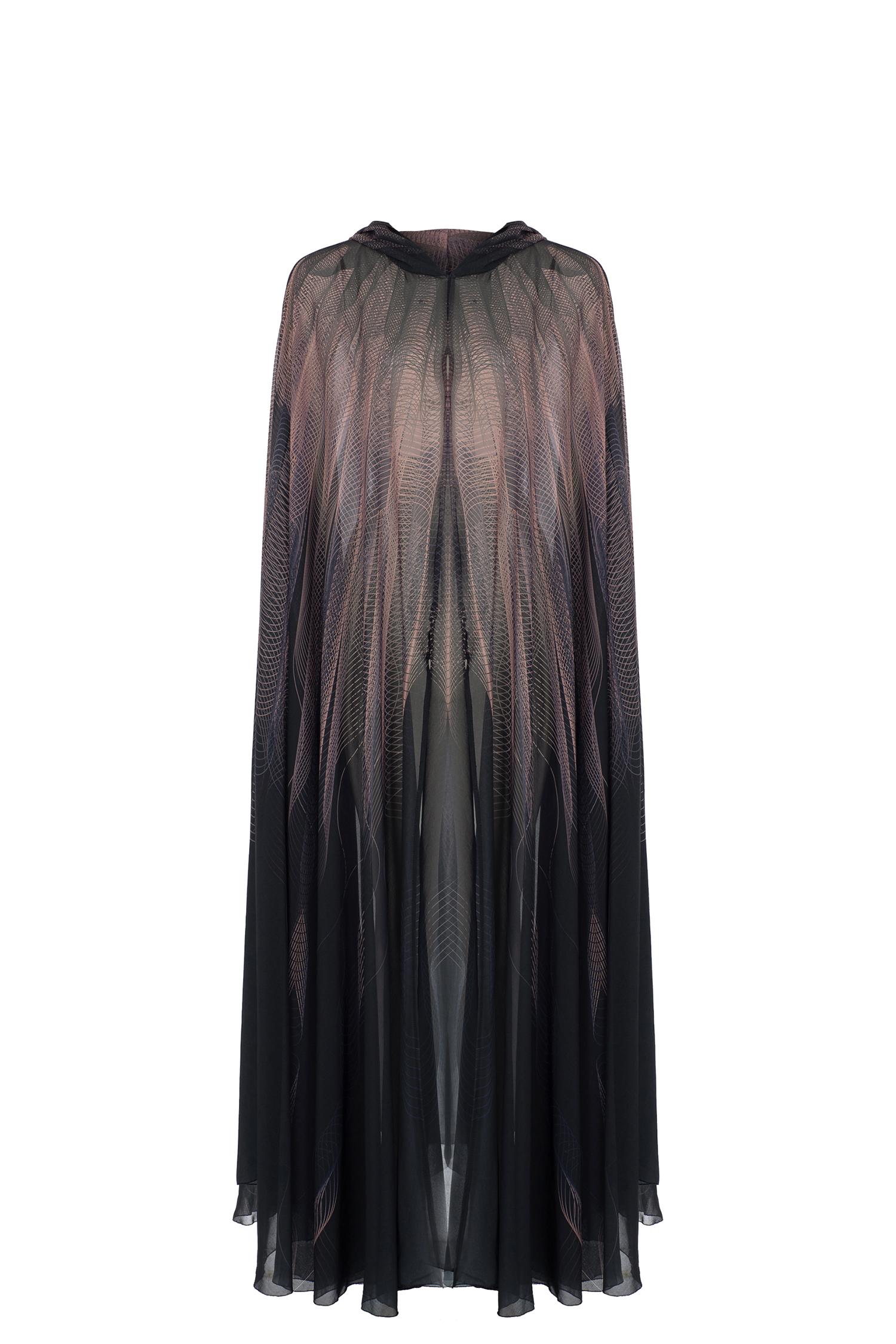 abaya, cape, tattoo