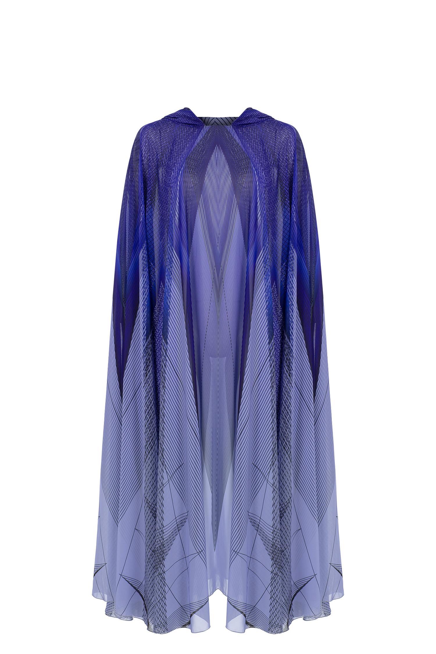 abaya, cape, print