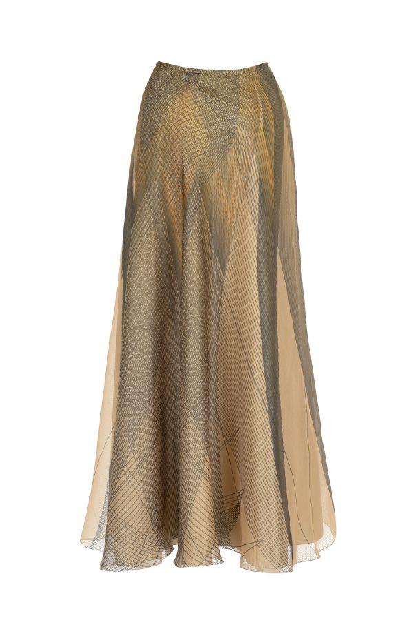 skirt, print, orion
