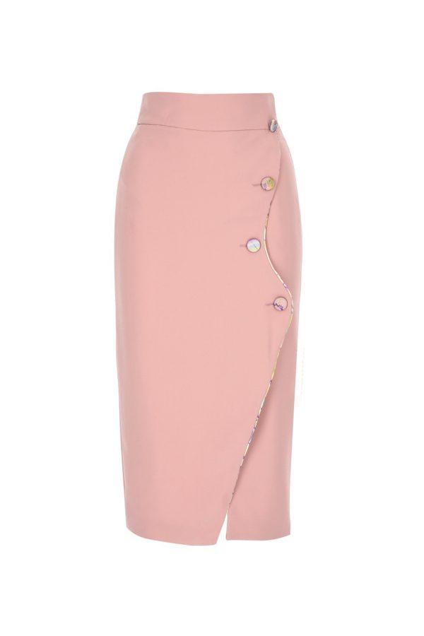 skirt, pencilskirt, ss21, crepe