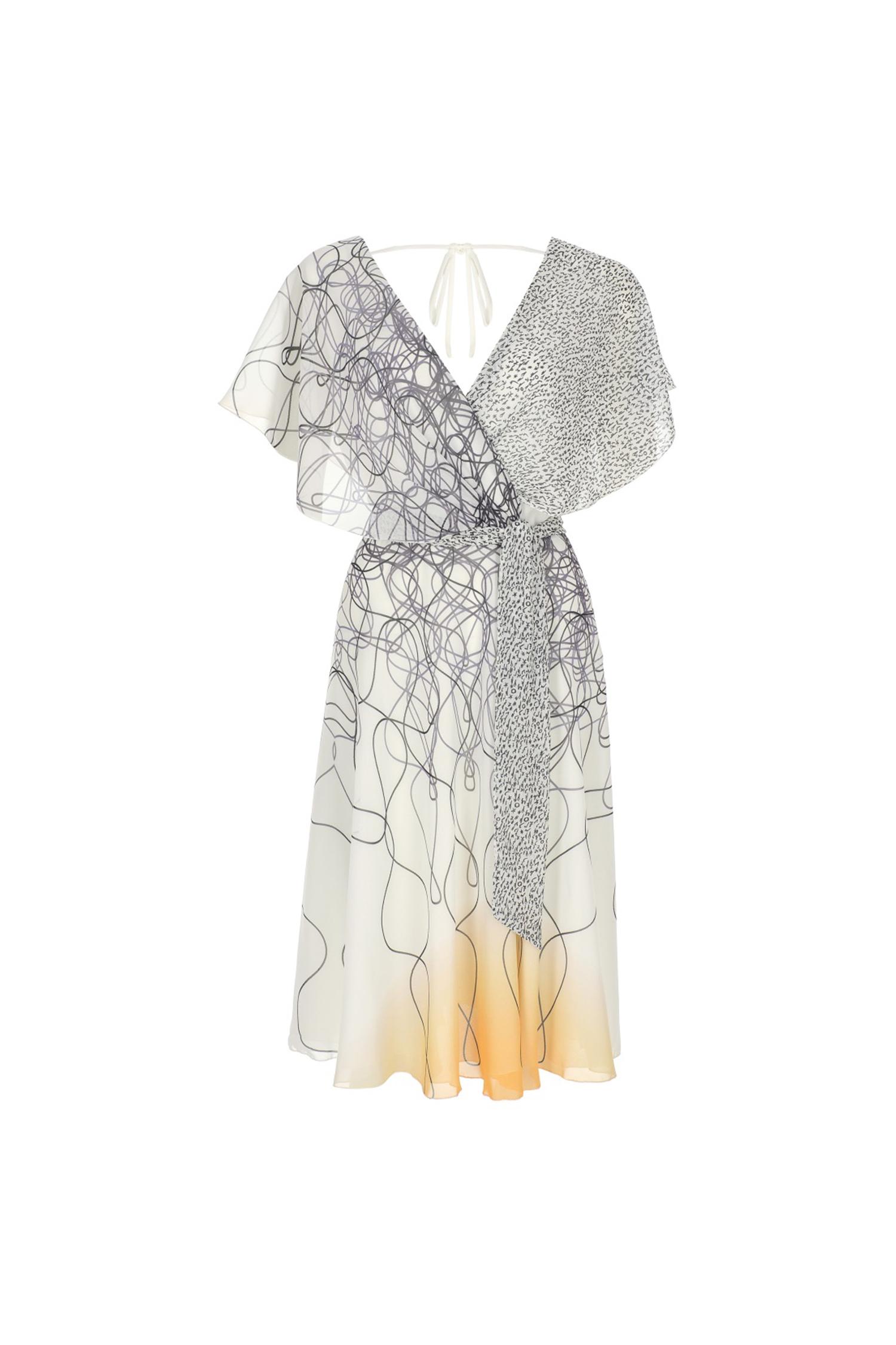 dress, wrap dress, summerdress