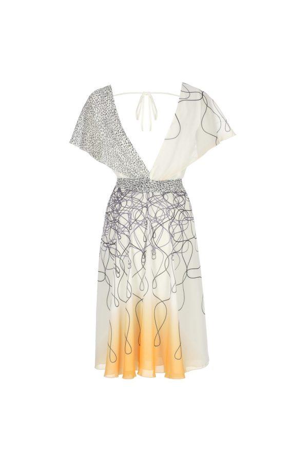 dress, summerdress, wrap dress