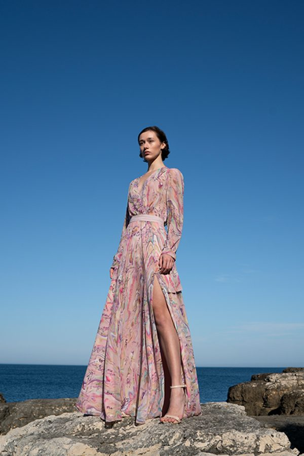 dress, maxidress, ss21, print