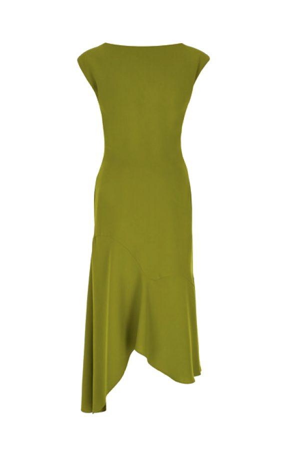 dress, open back, ss 21