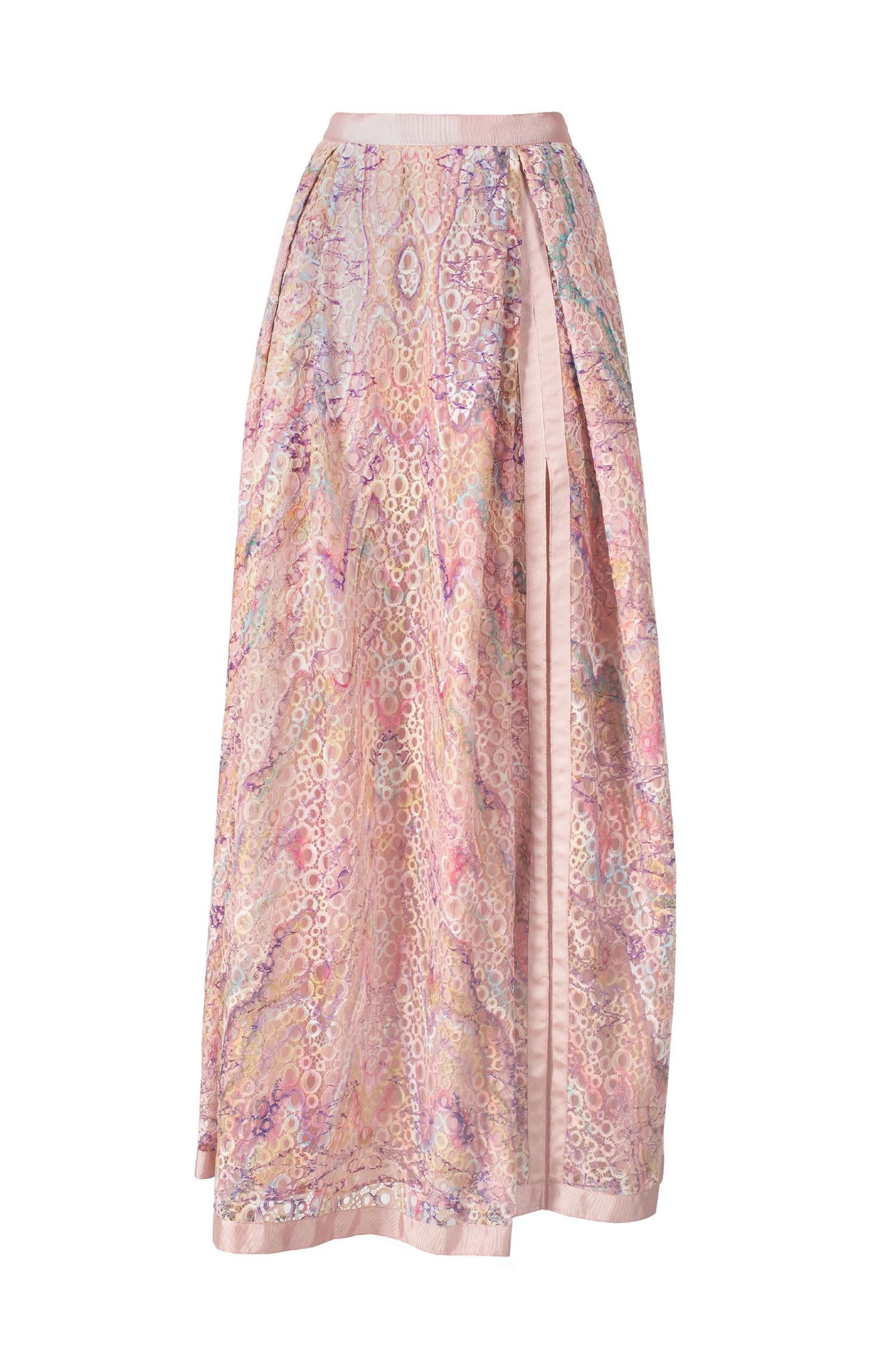 skirt, lace, print, ss21